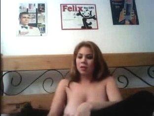 Busty blonde big tits
