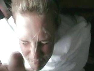 Jim masturbates and offers a facial