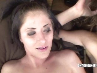 Charli and Penelope gettting fucked in a threesome