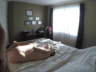 I'm being fucked by my horny bf in homemade amature porn