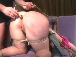 Chubby tied fun