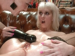Amazing fisting, anal adult scene with horny pornstars Cherry Torn and Audrey Hollander from Every.