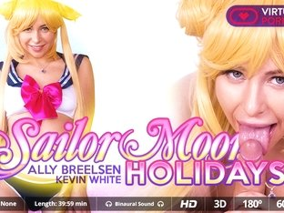 Ally Breelsen  Kevin White in Sailor moon holidays - VirtualRealPorn