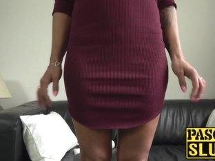 Nasty brunette Jenna Joy needs hard and deep fingering