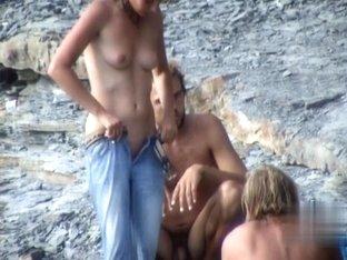 Nude Beach. Voyeur Video 283