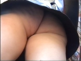 Kinky babes with no shame and amazing ass upskirt