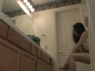 Mom secretly filmed in erotic lingerie