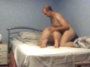 Hidden Cam of my missus getting her arse slapped