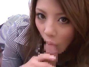 Best Japanese slut Risa Tsukino in Amazing Blowjob/Fera, DP/Futa-ana JAV video