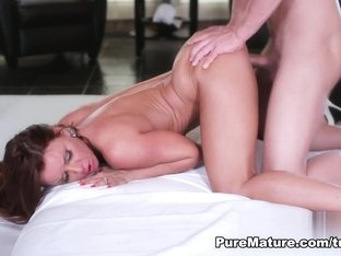 Janet Mason in Honey I'm Home - PureMature Video