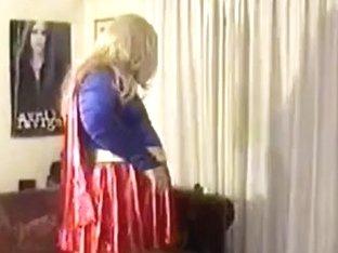 me crossdressing as supergirl