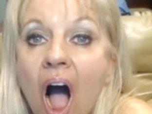 Webcam - Busty 47 year old slut with big pussy teasing