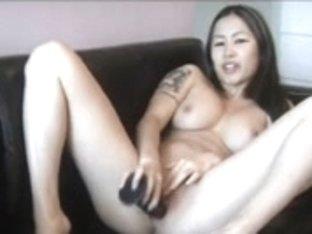 Duży sikora latina pokojówka bierze Dick