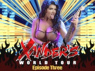 Romi Rain & Xander Corvus in Xanders World Tour - Ep.3 - BrazzersNetwork