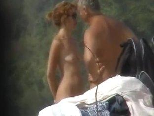Amazing females on a nudist beach captured on my cam