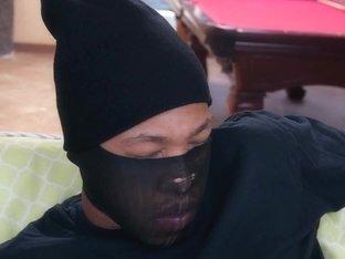 Teen fucks black intruder