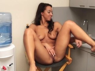 Masturbating In The Office's Lunch Room