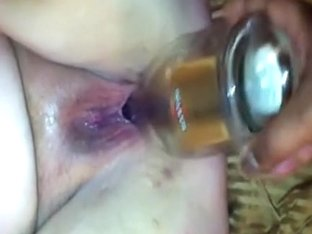 Bottle up her fuck holes deep