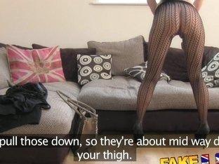 FakeAgentUK Sexy stocking clad Liverpool girl
