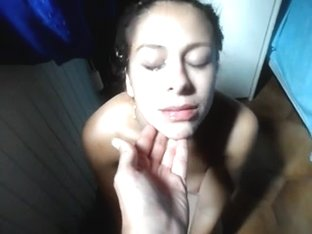 This Babe's tired,back home after a bang.But I want to cum likewise