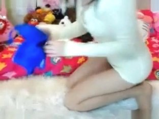 Amazing Webcam record with Asian, Masturbation scenes