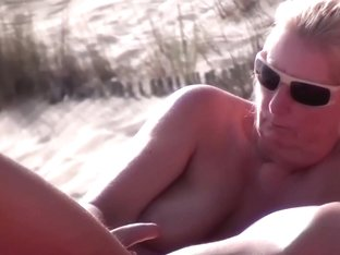 Sluts on a beach in my amateur voyeur porn clip