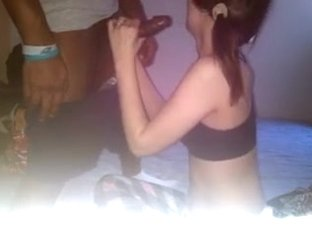 Pigtail GF blow her BBC