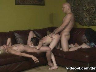 Best pornstars Shelby Angel, Sindee Jennings in Fabulous Threesomes, Small Tits xxx clip