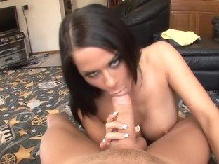 Best pornstar Savannah Stern in exotic blowjob, facial xxx video