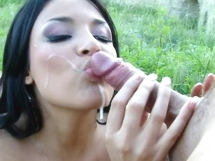 Amazing with natural tits and loves anal