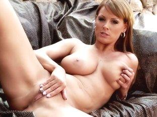 Horny pornstar Sheila Grant in fabulous masturbation, solo porn video