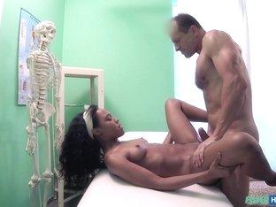 Horny pornstar Noemilk in Incredible Medical, Black and Ebony porn clip