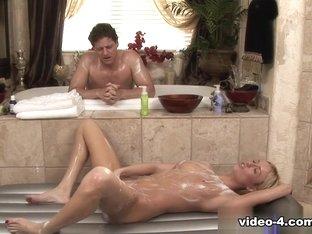 Exotic pornstar Victoria White in Crazy Facial, Showers porn clip