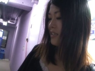 Downblouse voyeur taking every chance to peek at natural tits.