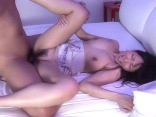 Amazing Japanese model Chihiro Kitagawa in Hottest JAV uncensored Creampie clip