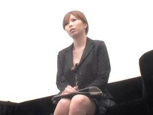 Asian babe banged shitless in voyeur Japanese sec clip