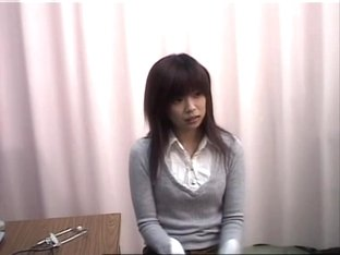 Hairy Japanese slut gets drilled during medical exam