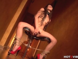 Asian Slave Girl teasing