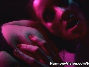Horny pornstars Valentina Cruz, Havana Sin in Crazy Threesomes, Stockings sex scene