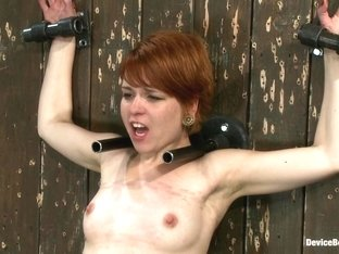 Juliette March in Machine Fucked Senseless for the Very First Time - DeviceBondage