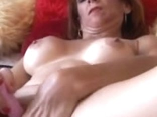 Nice-Looking aged redhead shows u how to fuck her soaked moist