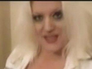 English Cutie Massage Blond Miss.Jackson shows CUNT