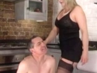 Strict wife makes lengthy suffering spouse pay for his errors