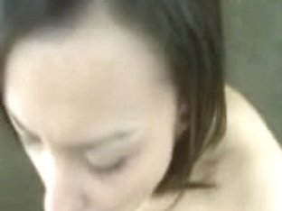 Interracial Latina fucked after an interview on couch