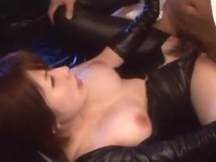 Saki Okuda hot milf enjoys a wicked mmmf group