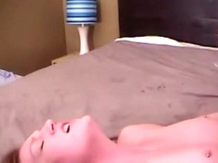 dilettante pair making a lustful home movie scene petite tits which are pierced