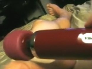 Tied up and blindfolded guy lets 2 girls play with his cock