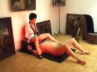 Empress Maxena - Humble slave worships ass and drinks spit