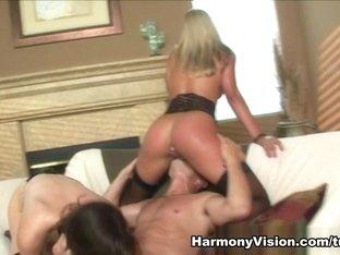 Best pornstars Bobbi Starr, Nikki Jayne in Horny Stockings, Pornstars xxx video