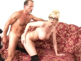 Fabulous pornstar Dona Bell in exotic big tits, blonde sex movie